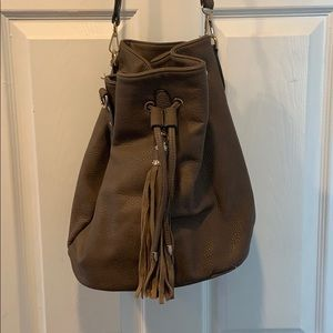 Brown Francesca's Hobo bag